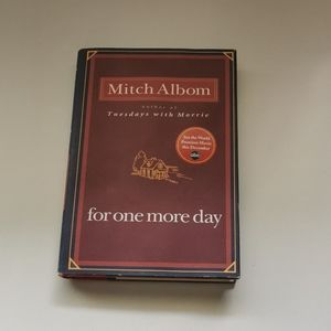 🐢 3 for $25 💘 Mitch Albom For one more day book